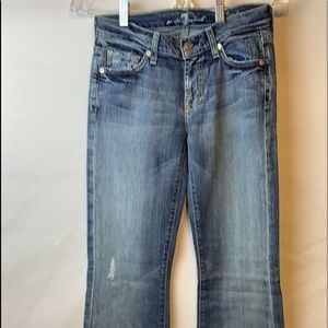 7 for all of mankind jeans sz25 nwot